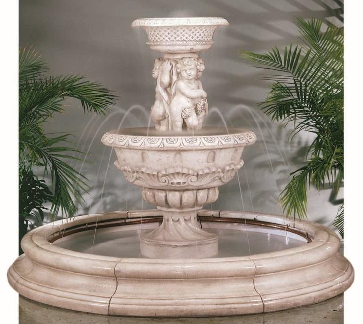 22 best charming cherub fountains images on pinterest