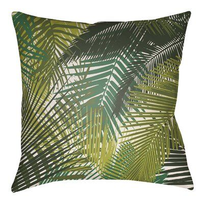 Sol 72 Outdoor Suffolk Palm Indoor/Outdoor Throw Pillow