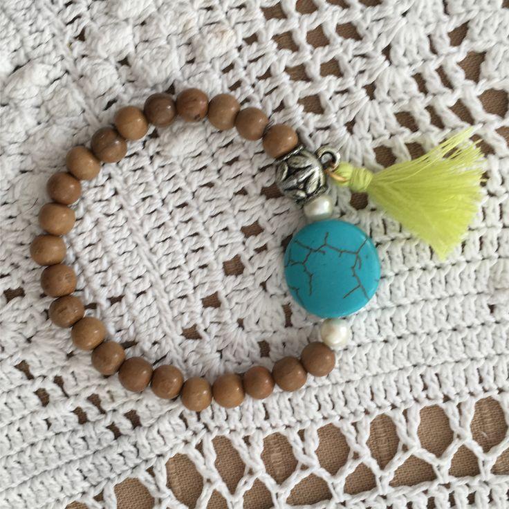 Azl Design Summer 2017 Collection/Turquoise bracelet 20$