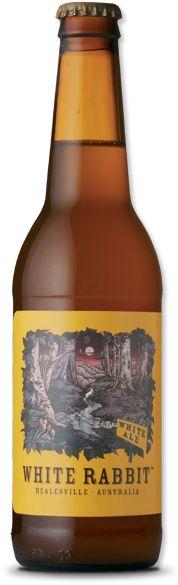 WHITE RABBIT White Ale - Healesville Victoria, Australia