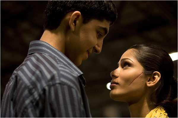 Slumdog Millionaire   Dev Patel & Freida Pinto