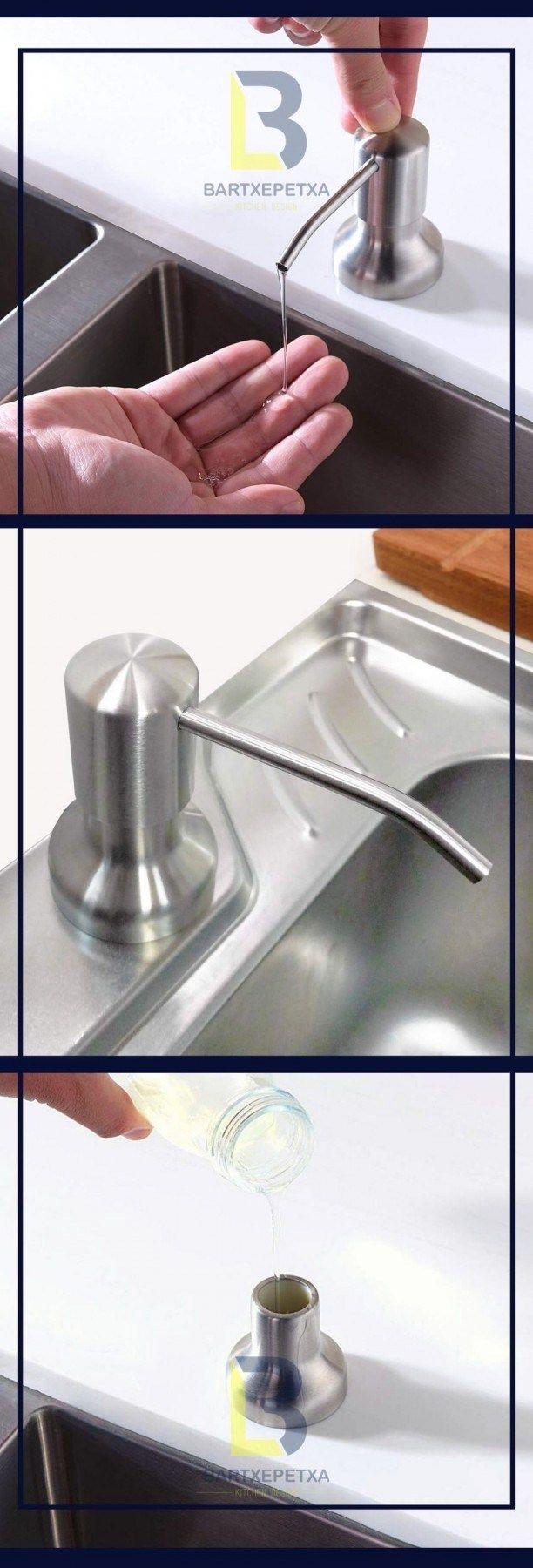 Best Kitchen Sink Soap Dispenser Ideas Design In 2020 Sink Soap Dispenser Best Kitchen Sinks Soap Dispenser