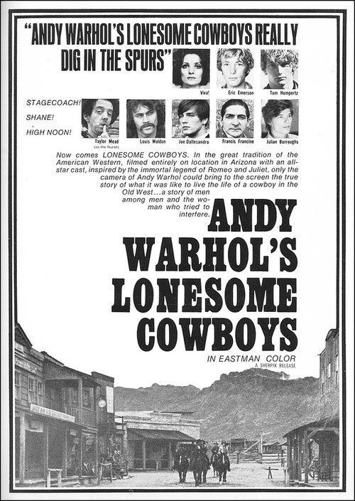 Lonesome Cowboys (Andy Warhol, America, 1968)
