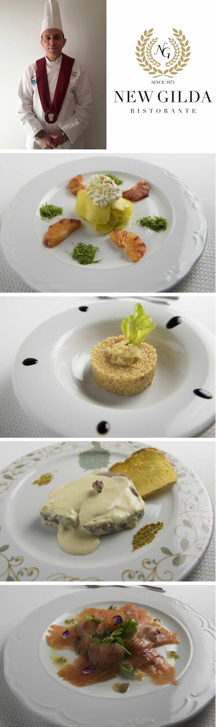 Dalle cucine del ristorante New Gilda, le ricette dello chef Gianni  Miccio con le spezie James 1599