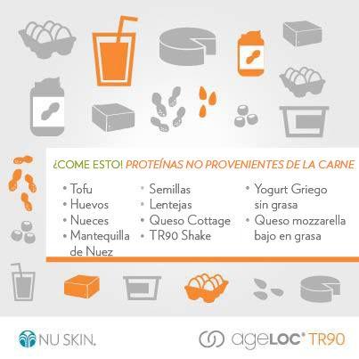 Existen muchos alimentos que te proporcionan proteína, no sólo la carne.