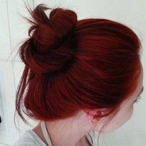 Dark Red Hair Color-koyu kırmızı ve kızıl saç renkleri (15)