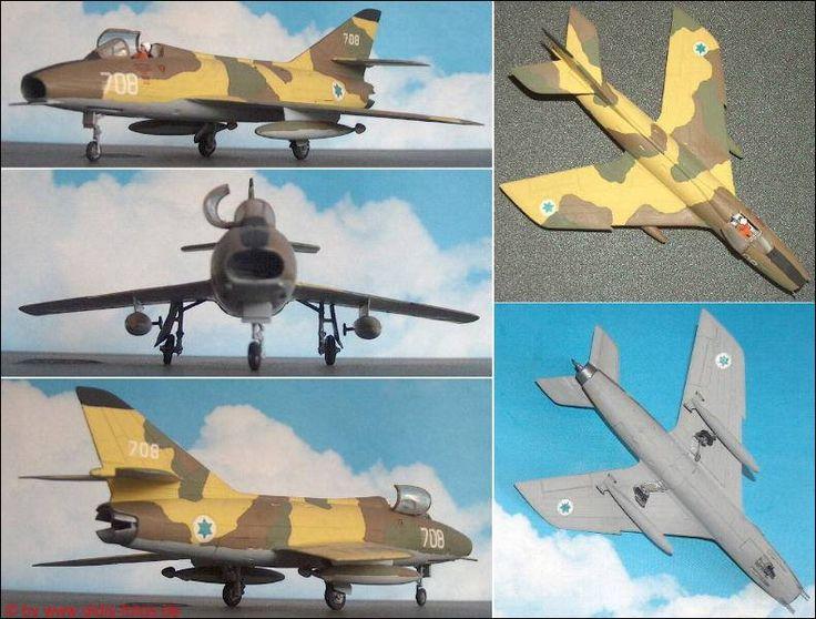 "Dassault ""Super-Mystére"" B2 (Airfix 4031)"