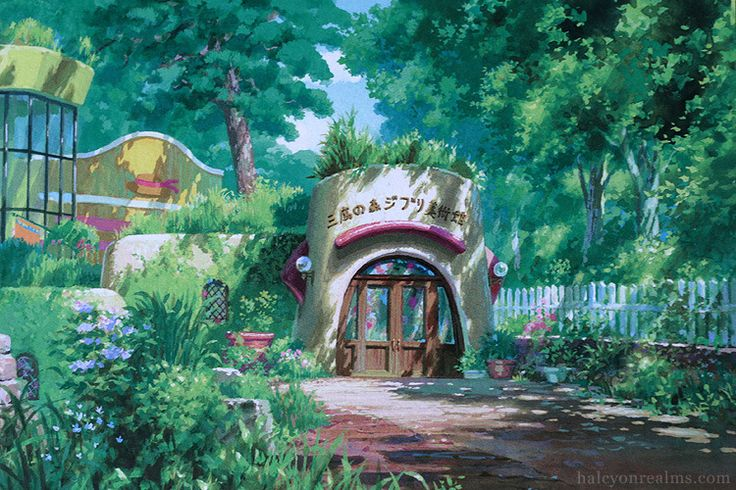CATSUKA - Ghibli Museum illustrated postcards by Noboru...