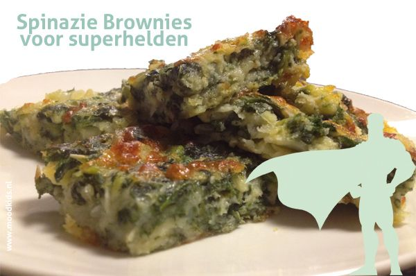 Spinazie brownies voor superhelden - Moodkids | Moodkids