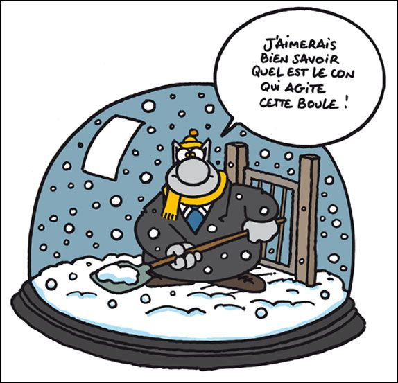 Philippe Geluck - Le Chat - Actu - 105