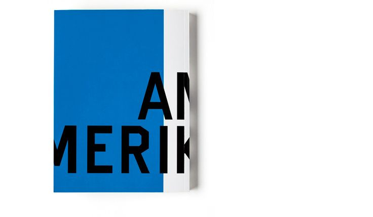 Amerika - Claudia Siegel / typografische Gestaltung