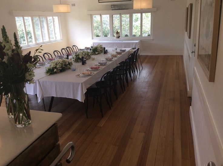 The Garden Terrace Room is a great setting for groups up to 60 guests. Enquire today for your next celebration