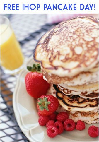 Mark Your Calendars! FREE IHOP Pancake Day March 4th, 2014
