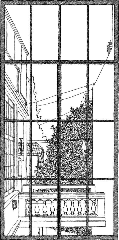 Mr. Borges's Garden - Windows to the world- matteo pericoli