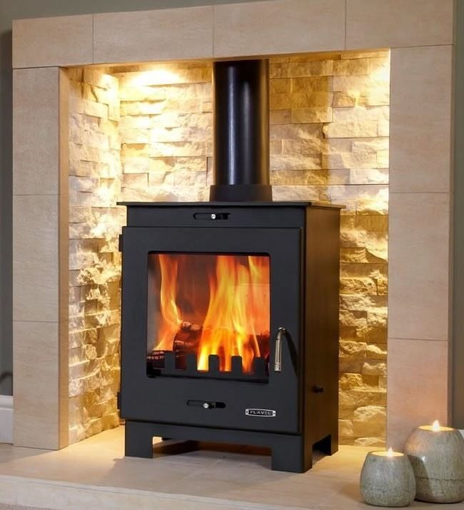 Wood Burner Stove Flavel Arundel Defra Approved BE EN 13240 2 Yr Warranty