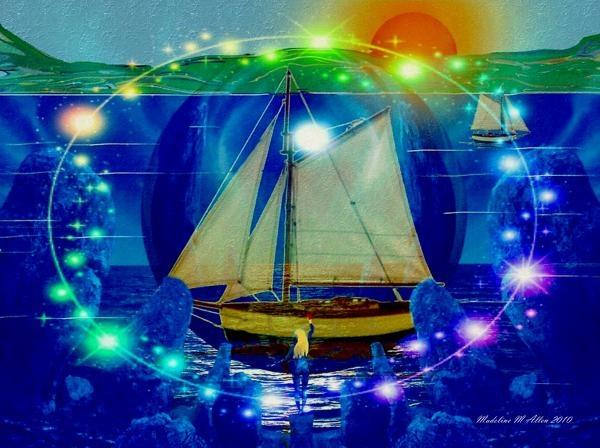 "SmudgeArt Digital Art Creation ""Godess Of The Sea"""