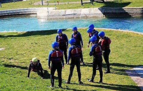 WHITE WATER RAFTING A challenge an adventure it was at Lee Valley - Yes, on the same course that Team GB won in 2012. #PUC2014 adventure in the path of @timbaillie @EtienneStott @David_Florence @RichHounslow @Lizzieneave feeling happy & scared at @LeeValleyWWC  http://www.visitleevalley.org.uk/go/whitewater/