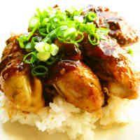 ☺簡単♪牡蠣のガーリックバター醤油丼☺