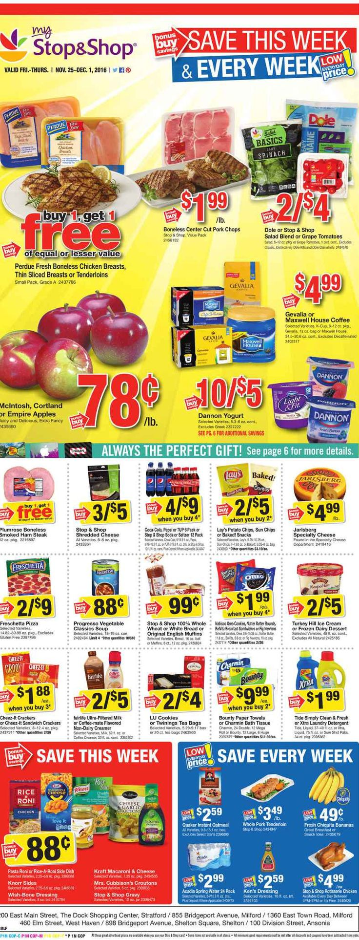 Stop and Shop Circular November 25 - December 1, 2016 - http://www.olcatalog.com/grocery/stop-and-shop-circular.html
