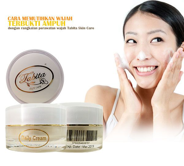 Cara Memutihkan Wajah Dengan Cream Tabita Skin Care