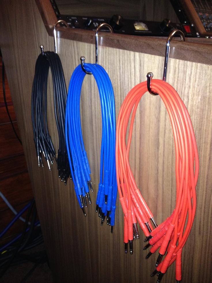 Patch Cable Hangers Kitchen Hooks Beliefspace Studio