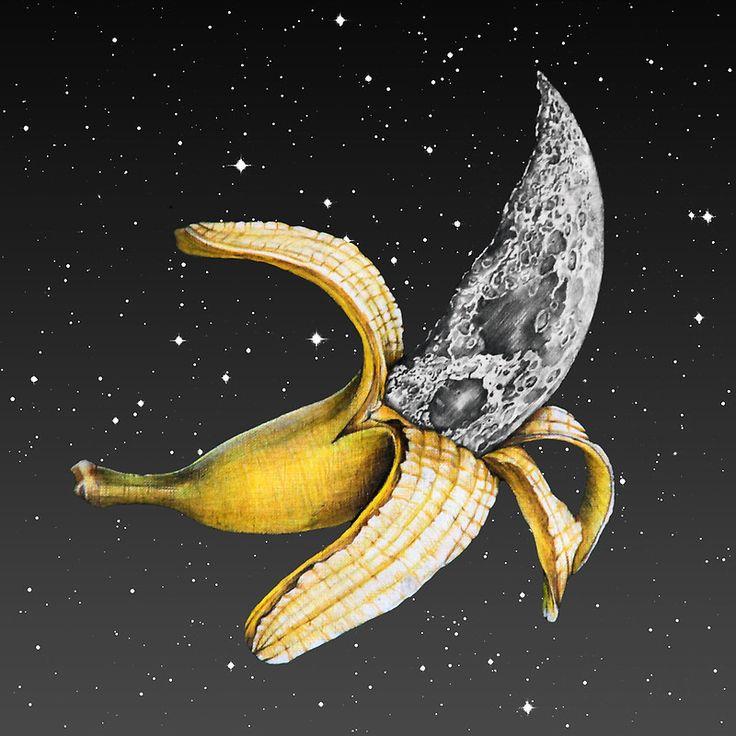 Moon Banana! by jamesormiston