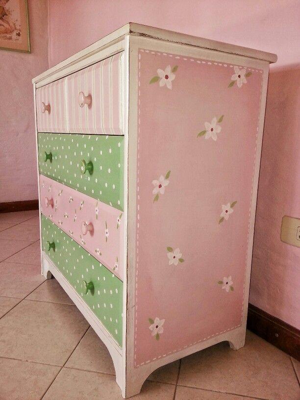 Comodas pintadas de colores buscar con google muebles pintados pinterest b squeda - Comodas pintadas ...