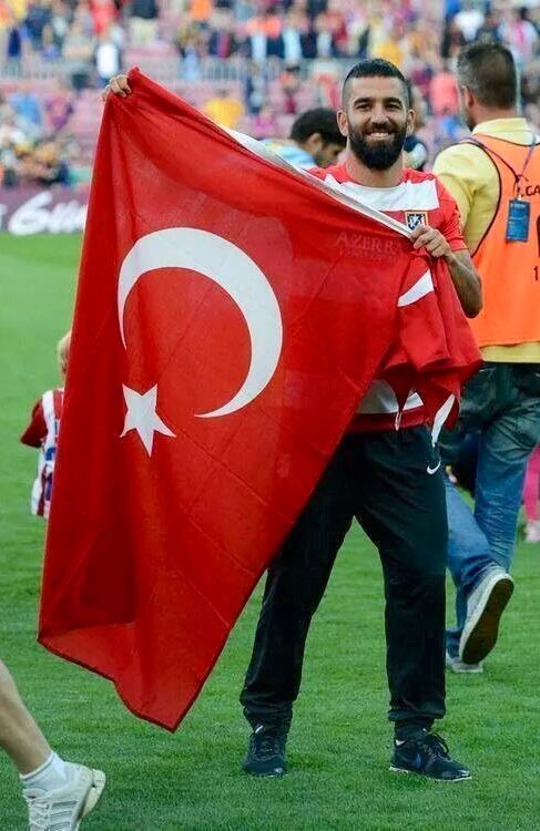 Turkish football player Arda Turan