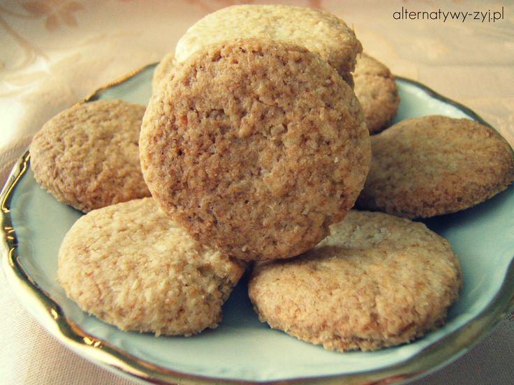 Ciasteczka kokosowe (bez jajek i mleka) Cookies coconut