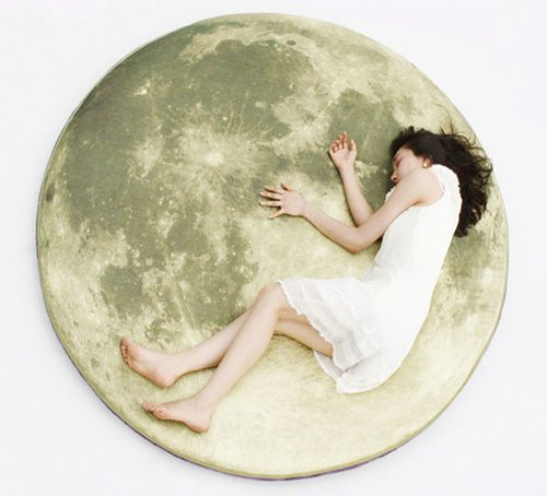 Cool Find: Full Moon Floor Pillow @ Halloween Culture Blog