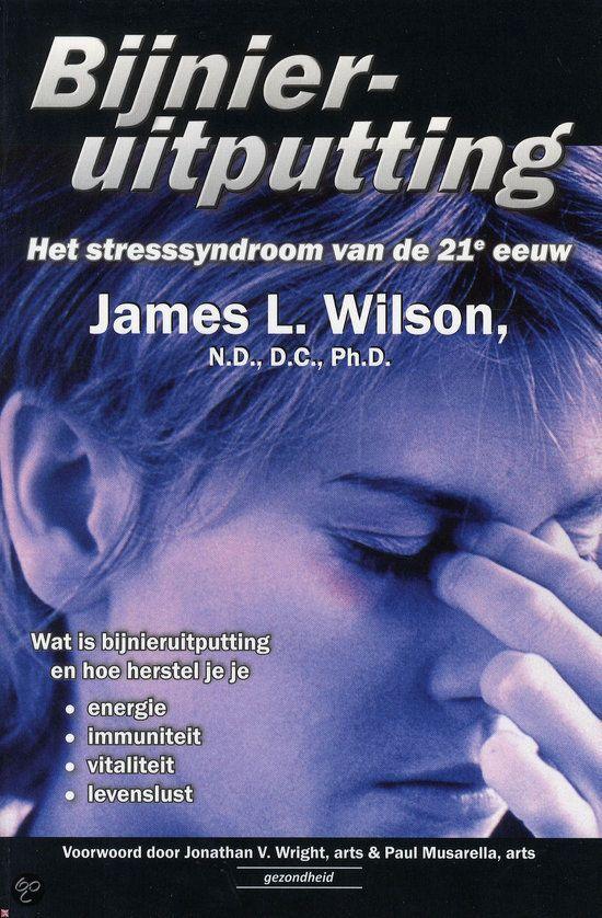 Gelezen fecr. 2015, 5*. Heel goed zelfhulpboek over burn- out / bijnieruitputting! Aangevraagd via de landelijke catalogus bij de bib: bol.com | Bijnieruitputting, James L. Wilson | 9789079872251 | Boeken