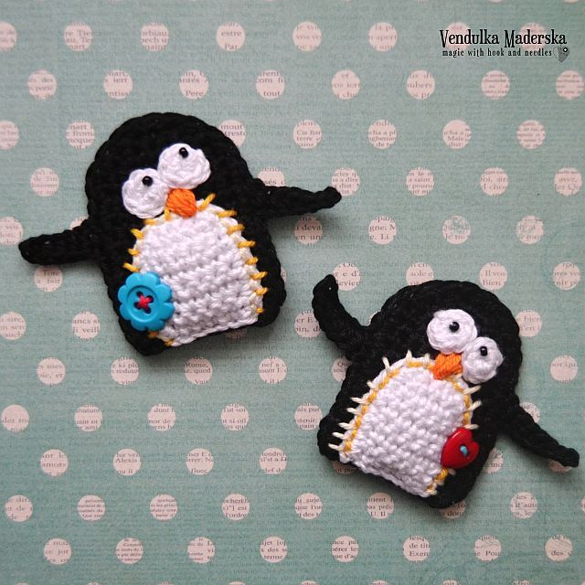 178 best Pingüinos images on Pinterest | Ganchillo pingüino ...