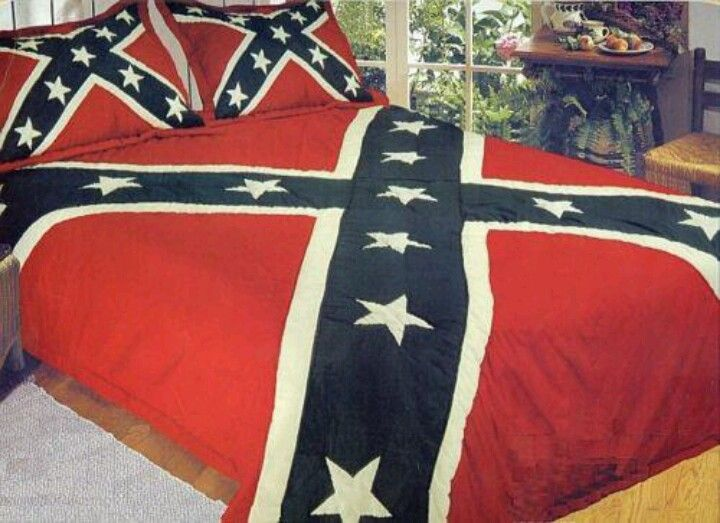 Rebel flag bed set i only need the pillow cases
