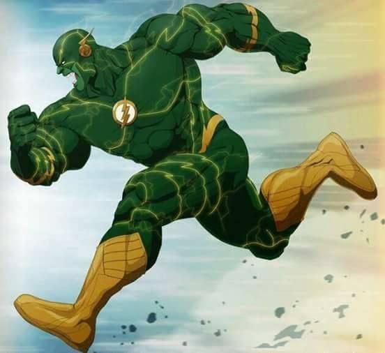 Hulk fusionado con flash quiero ver algun heroe derrotar esta version. Te imaginas un golpe de este heroe a toda velocidad??  ( espia827 ) - http://ift.tt/1HQJd81