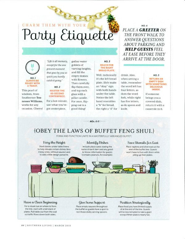 Southern Living Magazine March 2013