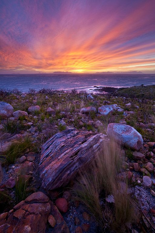 Kogelbay - just around the corner from Gordons Bay on Boyes Drive towards Rooi-Els - Western Cape, South Africa