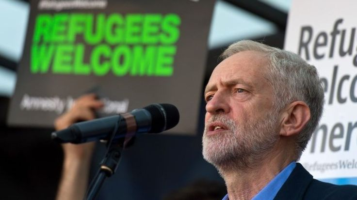 """Left-winger Jeremy Corbyn sweeps to a landslide victory in Labour's leadership contest - promising to lead the party's """"fightback""""."""