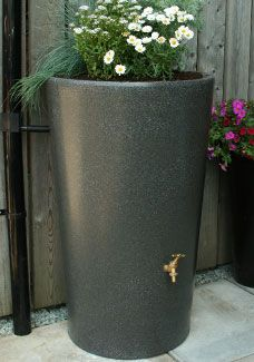 Ecosure The City Water Garden Water Butt Planter