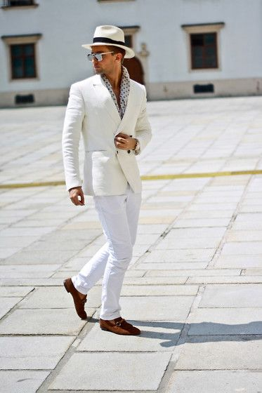 Darko Lukac - Gucci Scarf, Gucci Bamboo Loafers, Tommy Hilfiger Chinos - Welcome to St. Tropez