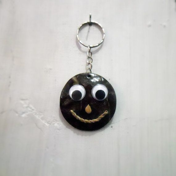 Funny Smiley Handmade Keychain Face Handycraft
