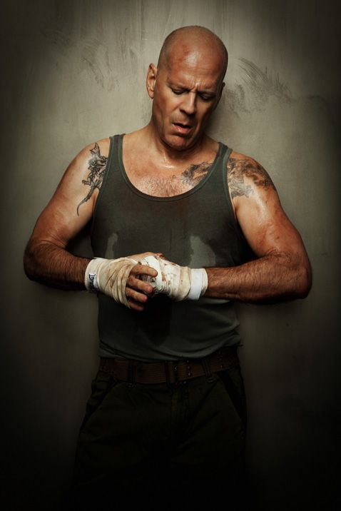 Great picture of Bruce Willis