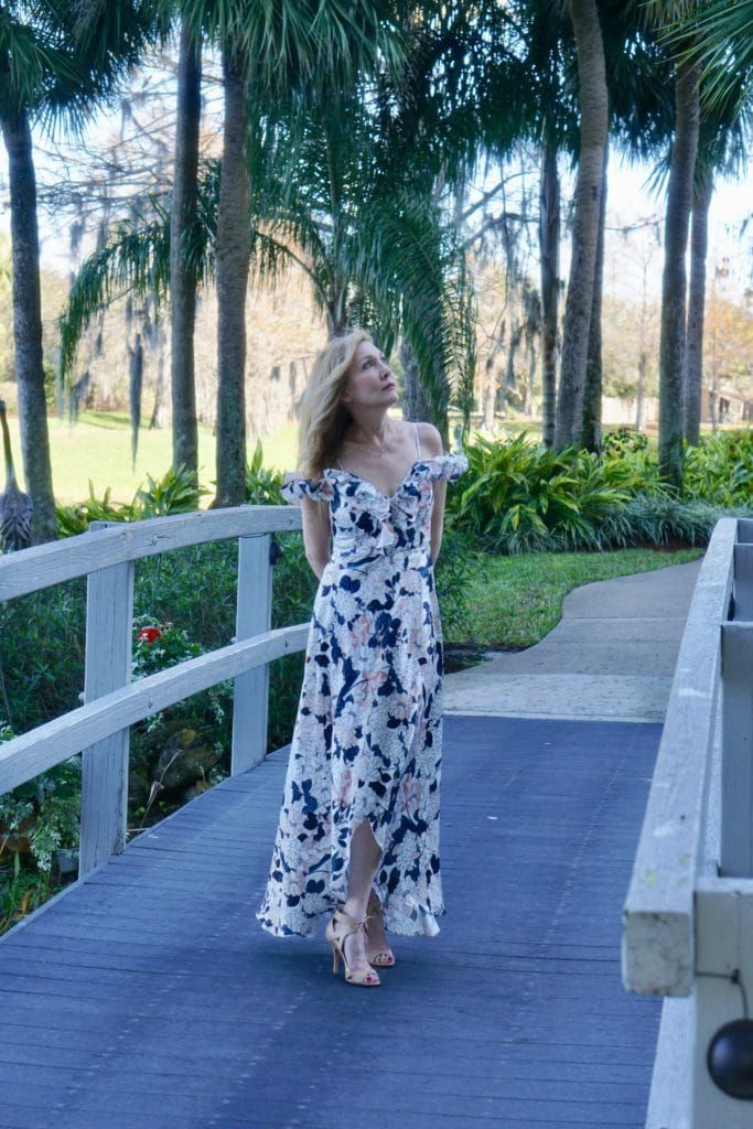 How To Be The Ideal Wedding Guest And Live To Tell Of It Sharing A Journey Floral Maxi Dress Outfit Summer Wedding Outfits Fashion For Women Over 40