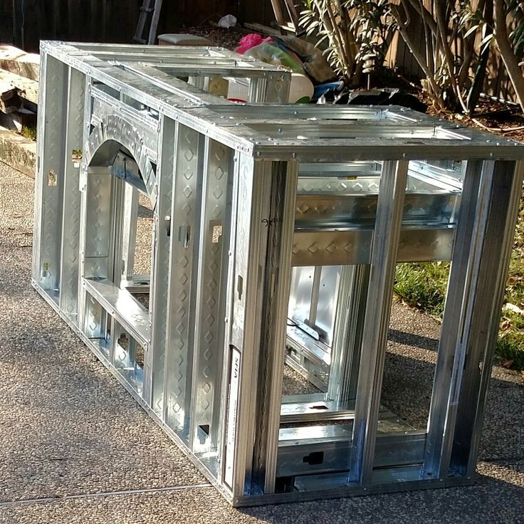 Diy Outdoor Kitchen Frames: 23 Best Images About OUTDOOR BBQ On Pinterest