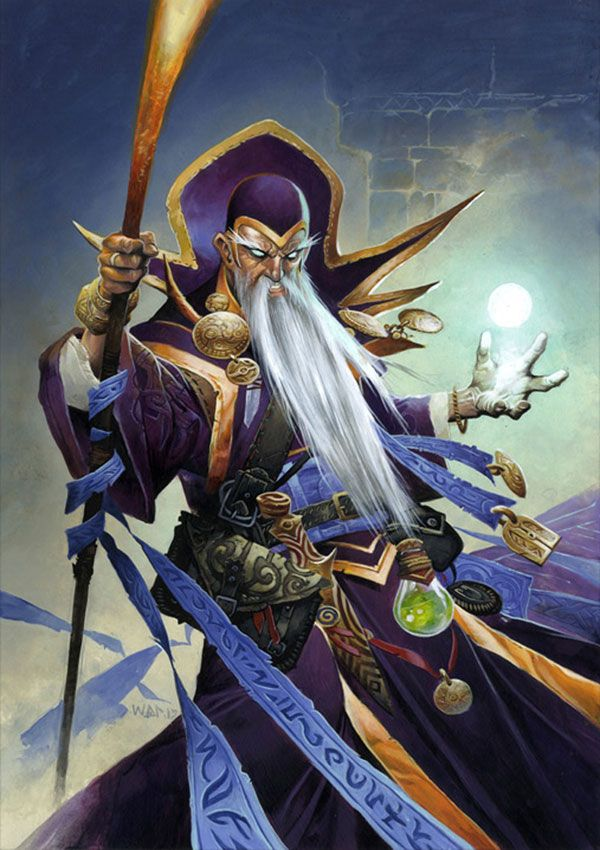 Archmage Antonidas - Pictures & Characters Art - Hearthstone: Heroes of Warcraft