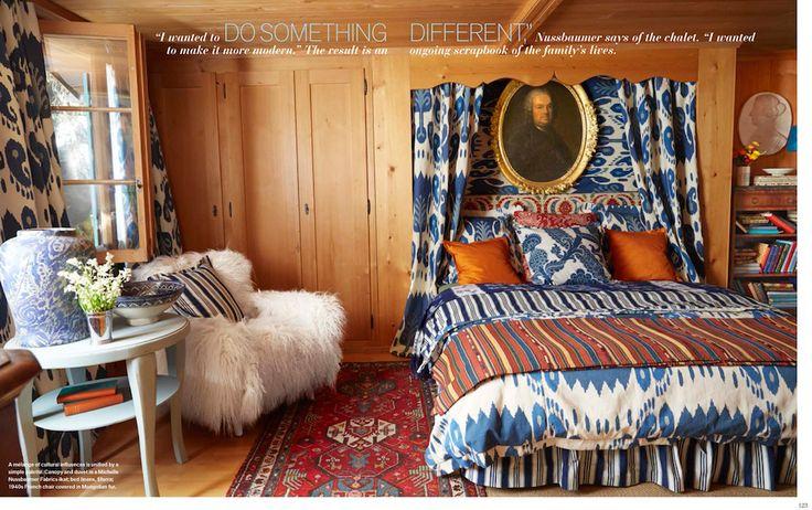 Michelle Nussbaumer's Dreamy Swiss Chalet   The English Room