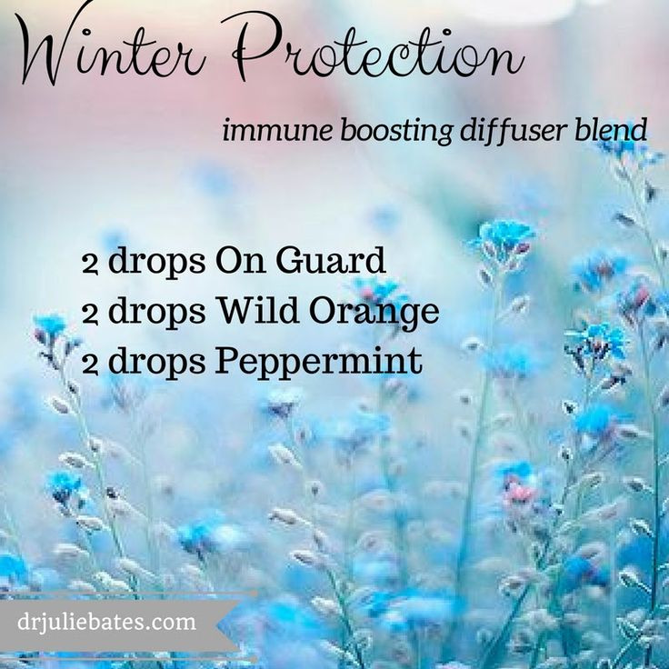 Winter Protection Diffuser Blend