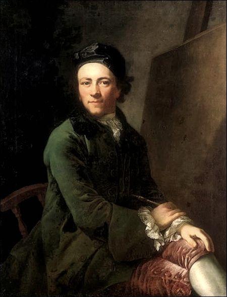 Anton Graff · Autoritratto · 1764 · Gemäldegalerie Alte Meister · Dresden