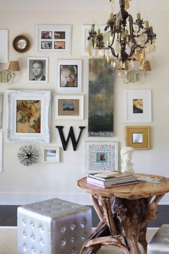 Gallery Wall Ideas With Mirror: 17 Best Images About Home: {Gallery Wall} On Pinterest