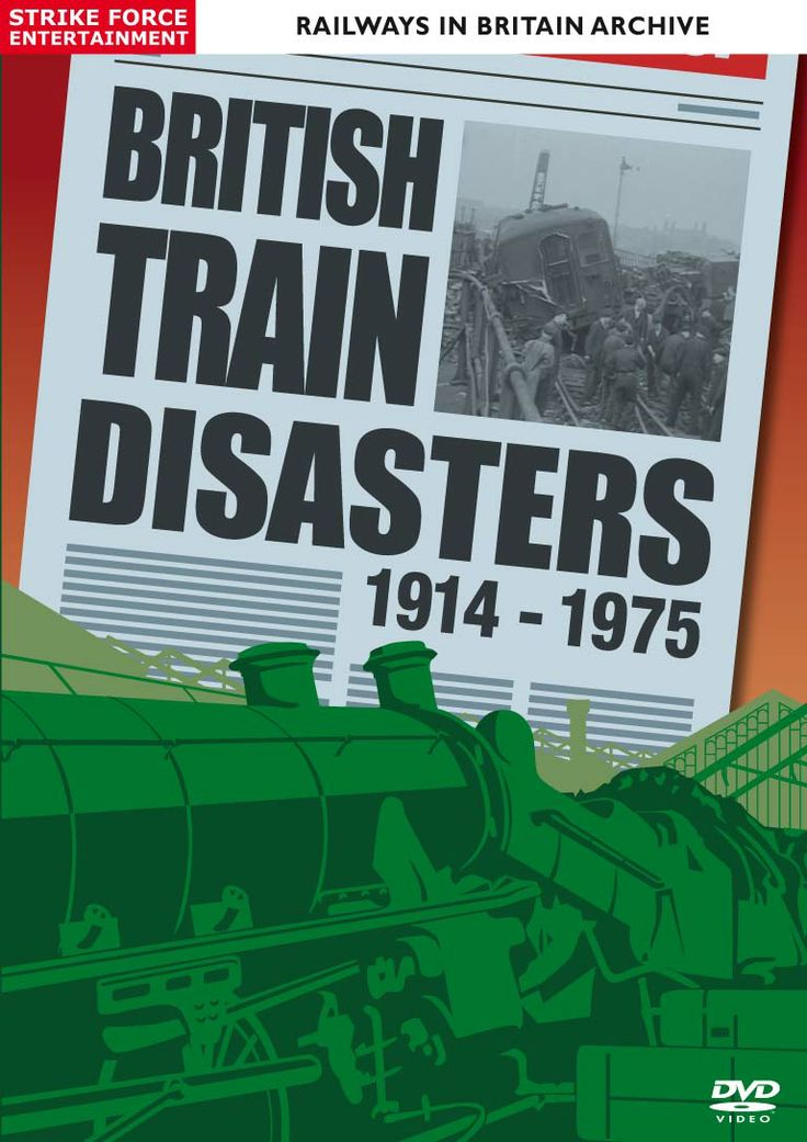On DVD from Strike Force Entertainment is BRITISH TRAIN DISASTERS, the definitive collection of newsreel reports from the era 1914-1975. Railway accidents happen for a variety of reasons, which include passing red signals, driver error, poor visibility, infrastructure and equipment failures, road vehicle collisions and even sabotage!  BRITISH TRAIN DISASTERS 1914 - 1975 examines these issues and reveals the often devastating effects.