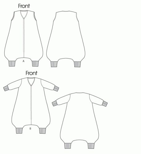 Toddler/Infant/Baby Sleep Sack Tutorial Pattern - Child Pajama Pattern Tutorial | Vanilla Joy